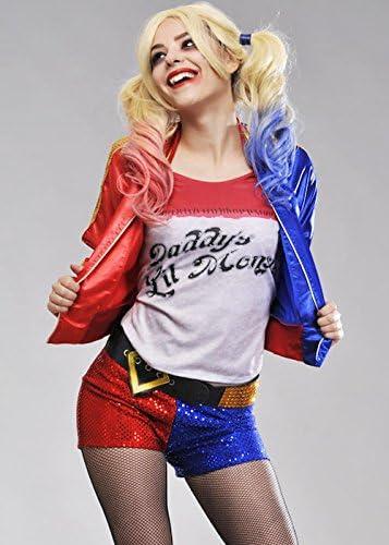 Escuadrón de suicidio de mujeres Harley Quinn Costume S (UK 8-10 ...