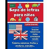 Sopa de Letras para Niños: Libro de Sopa