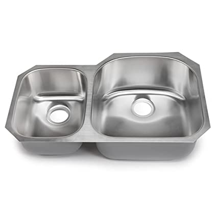 Hahn Chef Series Extra Large 3070 Double Bowl Sink Double Bowl