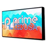 Prime LED USA Full Color Real Pixel 10mm Indoor Outdoor LED Sign RGB- P10 37.75 H X 37.75 W Text Photo Video DIP