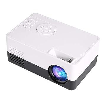 Proyector de Video para niños Mini proyector portátil 1500 ...
