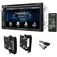 "2007-2009 Jeep Wrangler In-Dash 6.5"" DVD/CD Player Receiver Monitor w/ Bluetooth"