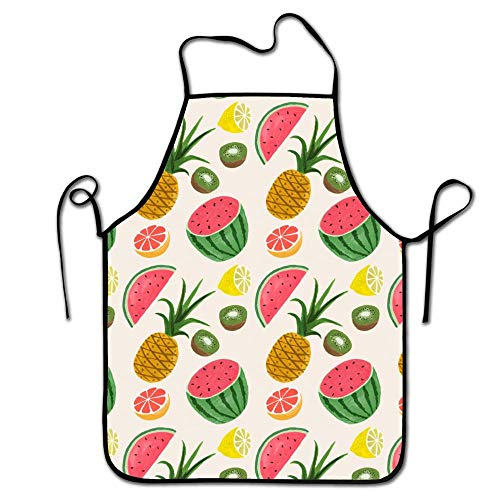 FEDDIY Colorful Kitchen Fruit Cute Funny Apron for