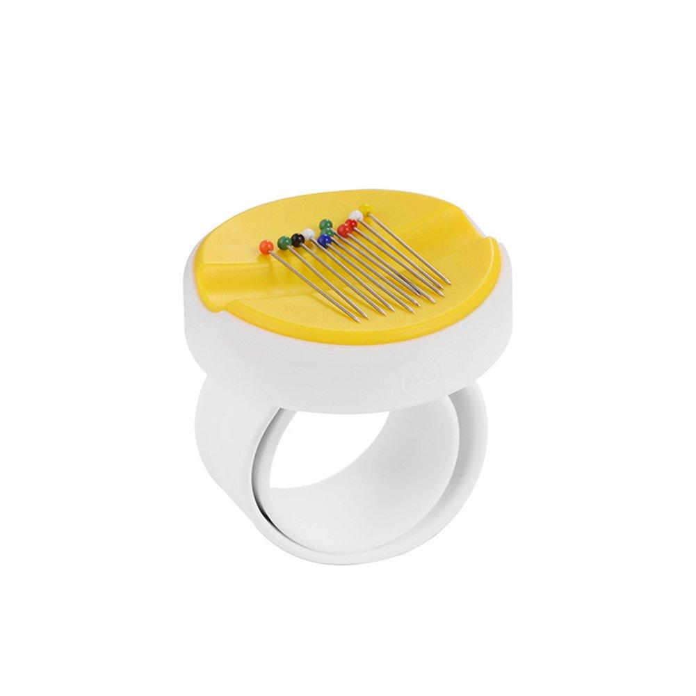 Magnetische Pins takonische Notions Handgelenk sortiert Schürze Magnetischer Pin Halter Free Size gelb