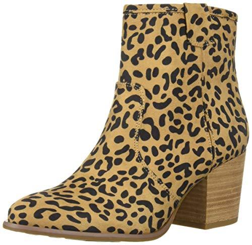 Animal With Womens (Carlos by Carlos Santana Women's Rowan Ankle Boot, Leopard, 9 M)