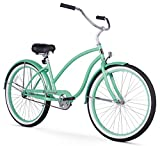 Firmstrong Chief Lady Single Speed Beach Cruiser Bicycle, 26-Inch, Mint Green