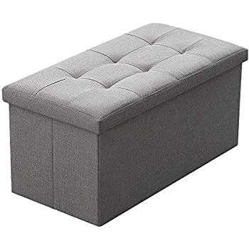 Amazon Com Camabel Folding Storage Ottoman Bench Cube 30