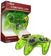 CirKa Controller for N64 (Cyanine/ Jungle)