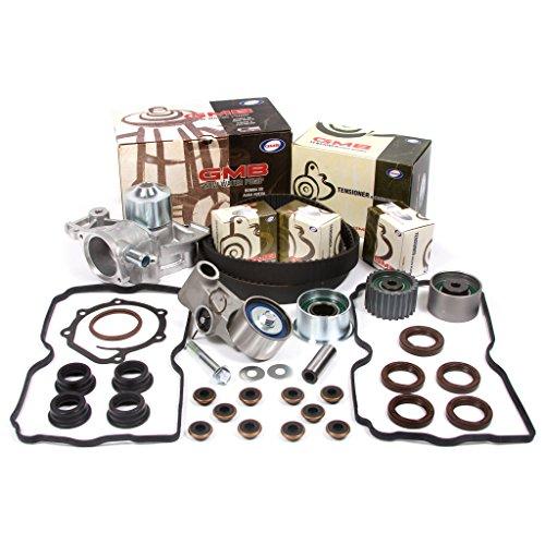 Fits 99-05 Subaru Manual Transmission 2.5 SOHC 16V EJ251 EJ253 Timing Belt Kit GMB Water Pump Valve Cover Gasket ()