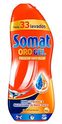 Somat Gold Spülmaschinen Gel/ AntiGeruch/ 33 Spülladungen/ 675ml/ Spülmaschinenreiniger