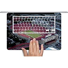 College Football Stadiums Macbook Full Keyboard Vinyl Decal Skin (Fits 13 inch) by Compass Litho