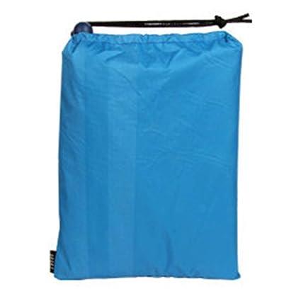 3 in 1 Raincoat Backpack Rain Cover Hood Hiking Rain Cover Poncho Waterproof Tent Outdoor Camping Tent Mat