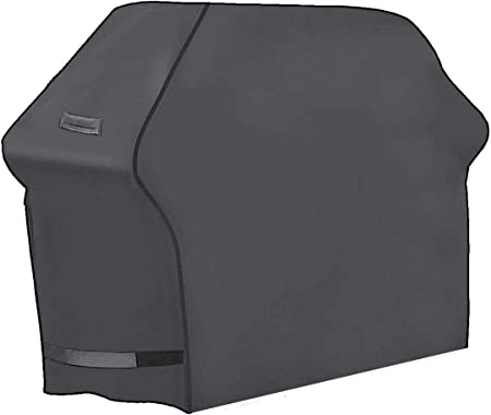 """BBQ GRILL COVER NEW SHARPER IMAGE 68/"""" GAS BARBECUE HEAVY-DUTY WEATHER RESISTANT"""