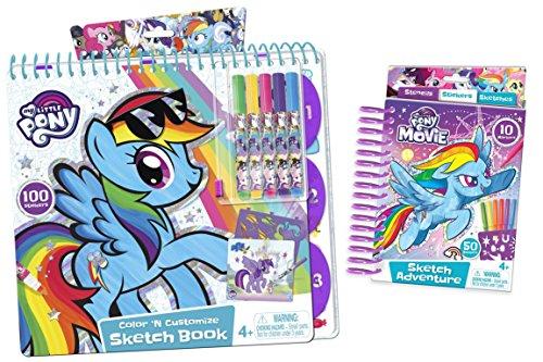 My Little Pony Bundle: Sketch Book and Mini Sketch - Portfolio My