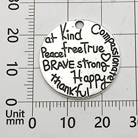 Jewelry Findings Making Accessory for DIY Necklace Bracelet Earrings Words Charm Collection-100g Craft Supplies Heart Moon Love Words Charms Pendants for Crafting