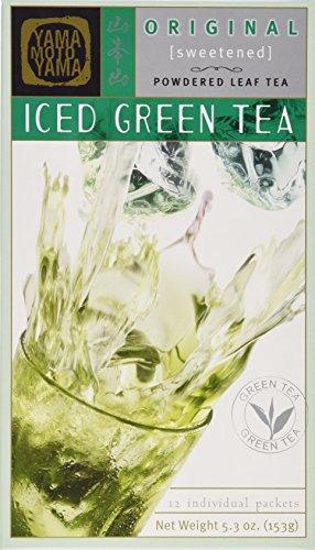Yamamotoyama Iced Green Tea, Sweetened, 5.3-Ounce Boxes (Pack of 4) (Yamamotoyama Green Tea)