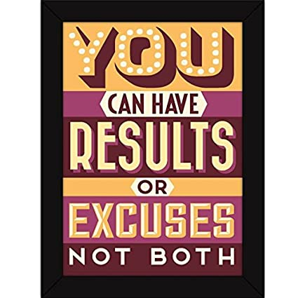Fatmug Motivational Poster With Frames For Office And Home - Gym ...