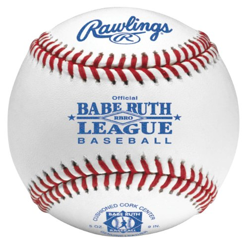 Rawlings Raised Seam Tournament Grade Babe Ruth League Baseball, 12 Count, RBRO by Rawlings