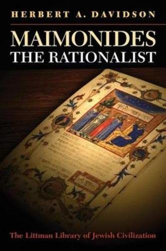 Maimonides the Rationalist (The Littman Library of Jewish Civilization)