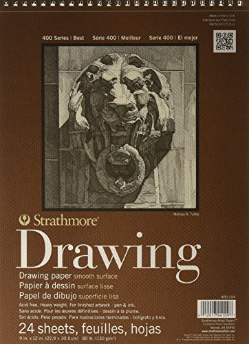 Strathmore 400-104 400 Series Drawing, Smooth Surface, 9