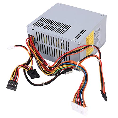 - 300W HP-P3017F3 J036N XW600 Watt Replacement Power Supply for Dell Vostro, Studio, Precision, Inspiron series Mini Towers Systems Part Number: PS-5301-08, D300R002L, HP-P3017F3 LF, DPS-300AB-24