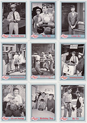 ANDY GRIFFITH SERIES 3 1991 PACIFIC COMPLETE BASE CARD SET OF 110 RON HOWARD -