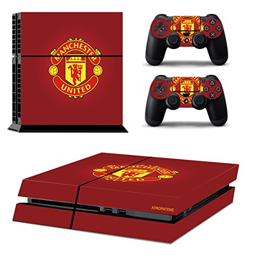 ps-4-playstation-4-console-skin-remote-controllers-skin-soccer-football-club-football-team-mancheste