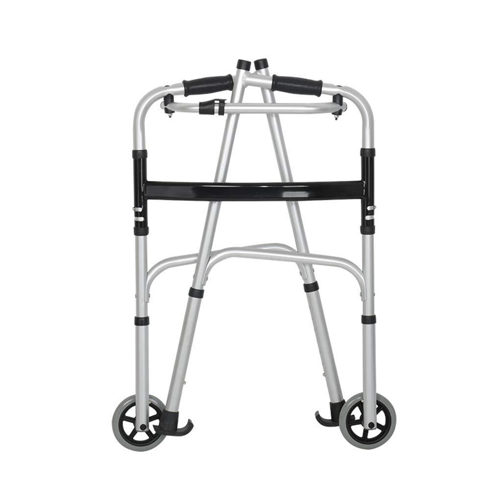 HYJ Andador Plegable,Rehabilitador Multifuncional de rehabilitaci/ón para Personas Mayores y discapacitadas