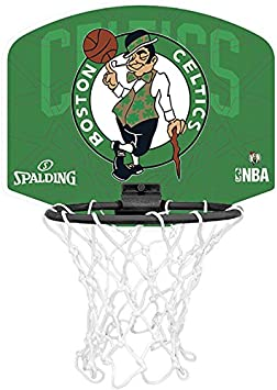 Spalding NBA Boston Celtics Mini Canasta de Baloncesto, Unisex ...
