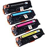 Ink & Toner 4 You ® Compatible Laser Toner Cartridge Set for Canon 118 (2662B001AA Black, 2661B001AA Cyan, 2660B001AA Magenta, 2659B001AA Yellow) Works With Canon ImageCLASS LBP7660Cdn ImageCLASS MF8350cdn ImageCLASS MF8380Cdw LBP7200Cdn
