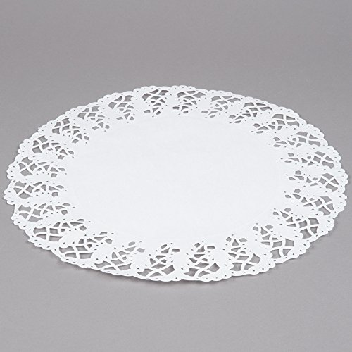 Hoffmaster 500259 14 1/2'' Lace Doily - 1000/Case by Hoffmaster
