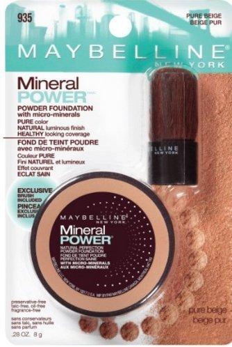 Maybelline New York Mineral Power Powder Foundation, 935 Pure Beige