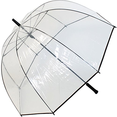 Transparentschirme Golf Domeshape Clear - Clásico Transparente transparente 103: Amazon.es: Equipaje