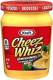 Cheez Whiz Original Plain Cheese Dip (8 oz Jar)