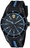Ferrari Men's 0830247 REDREV Analog Display Japanese Quartz Black...