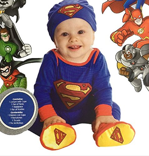 Superman Infant Dress-Up Costume (6-12) (Superman Baby Costumes)