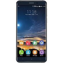 OUKITEL K6000 Pro 5.5 Inch Android 6.0 Smartphone, MTK6753 Octa Core 1.3GHZ, 3GB RAM + 32GB ROM GSM & WCDMA & FDD-LTE (Black)