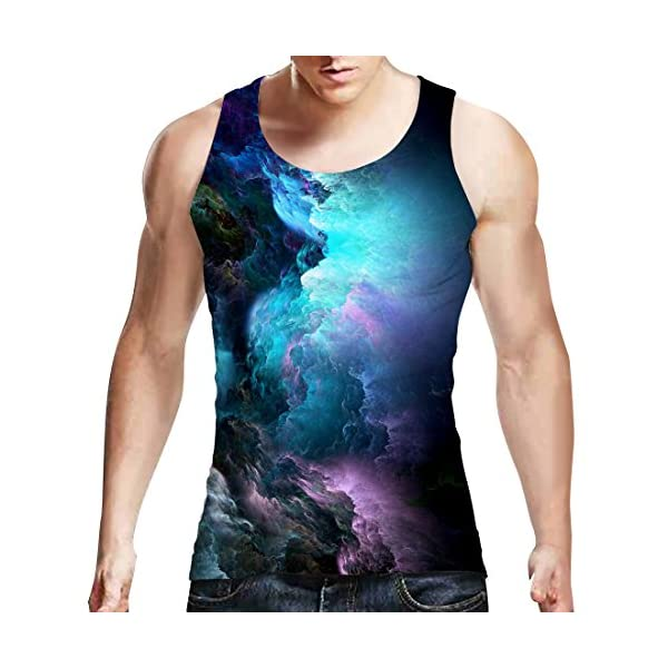 Uideazone-Mens-Tank-Top-Casual-3d-Printed-Patterns-Graphics-Tees