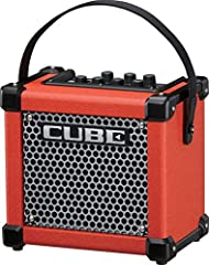 "3-watt 1-channel 1x5"" Battery-powered Guitar Combo Amplifier with 8 DSP Effects, 8 COSM Amplifier Models, Chromatic Tuner, iOS i-Cube Link, and Auxiliary Input"