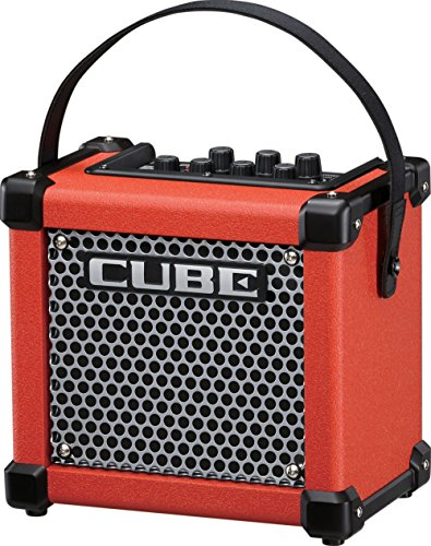 Roland Micro Cube GX 3W 1x5 Battery Powered Guitar Combo Amp (Street Battery Powered Stereo Amplifier)