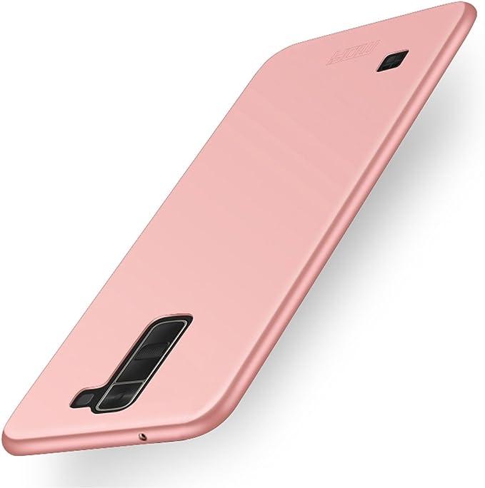 Fundas y Estuches para teléfonos móviles, MOFI para LG K7 Frosted PC Ultra-Thin Edge Funda de protección Completamente Envuelta (Color : Oro Rosa): Amazon.es: Electrónica