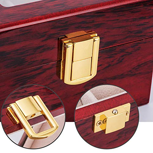 Image result for 2 slot wooden watch box