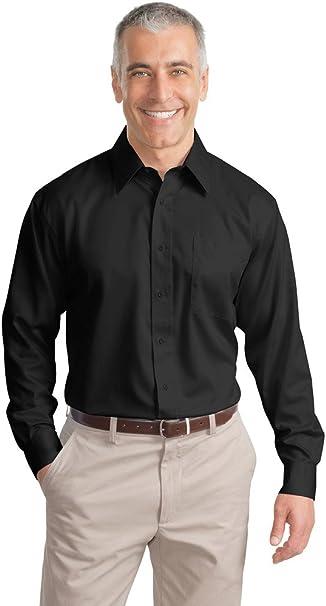 Port Authority Mens Tall Long Sleeve NonIron Twill Shirt