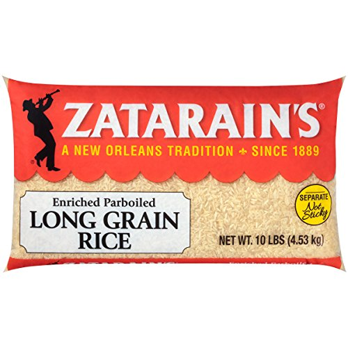 (Zatarain's Long Grain White Rice, Cholesterol and Sodium Free, Fat Free, 10)