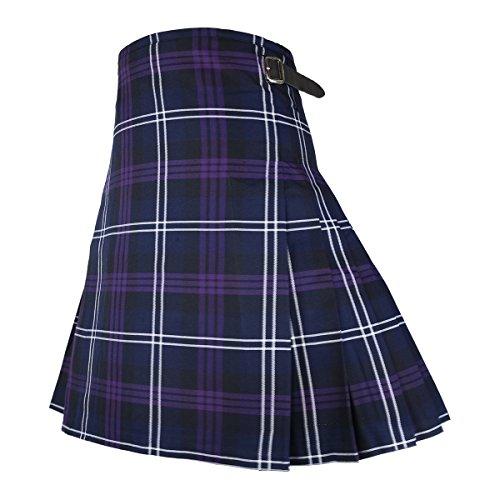 "Best Kilts Men's Scottish 5 Yard Party Kilt Heritage Of Scotland 38""-40"" Purple by Best Kilts (Image #2)"
