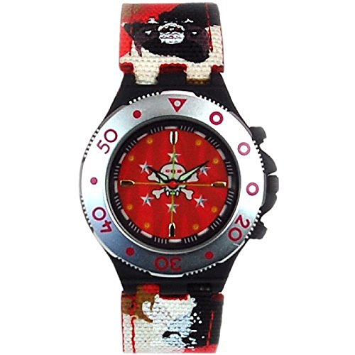 - Call Of Duty Boy's Red Cameo Crosshairs Icon Analogue Watch