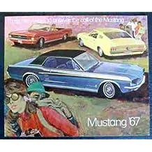 BEAUTIFUL 1967 FORD MUSTANG DEALERS SALES BROCHURE - 67