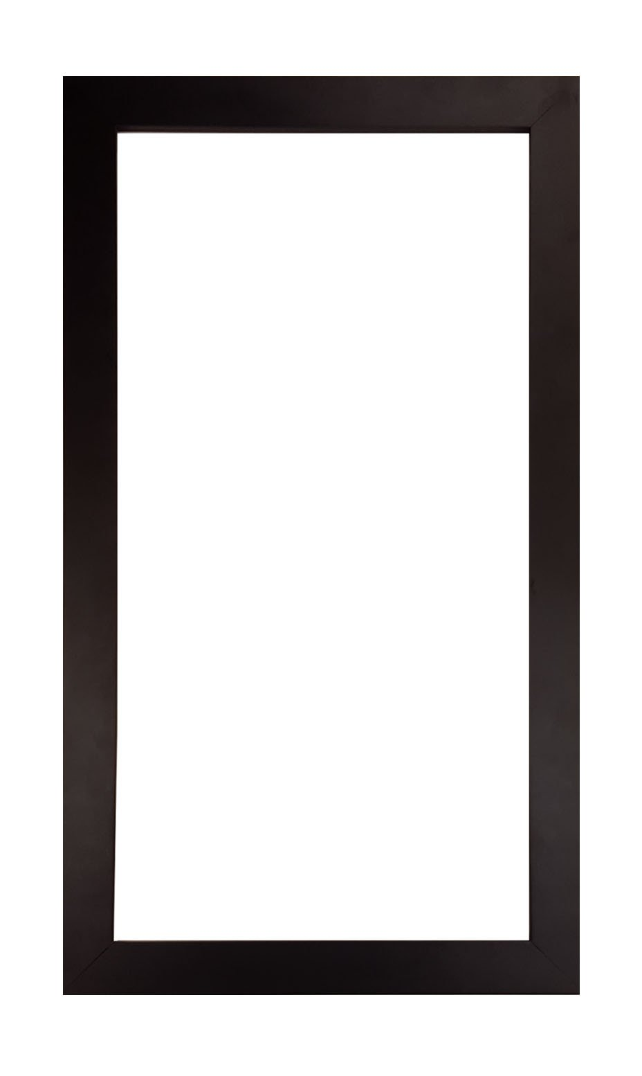 12x24 Modern Smooth Black Wood Picture/Poster Frame (12'' X 24'') 1 1/2'' wide