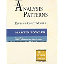 Analysis Patterns: Reusable Object Models (paperback)