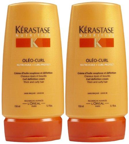 Kerastase Nutritive Creme Oleo-Curl Curl Definition Creme, 5.1 oz, 2 pk